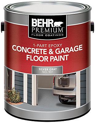 behr behr 1-partie Époxy peinture pour béton & planchers de garage ... - Peinture Pour Plancher De Beton