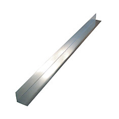 Flashing Angle, 4 inch  x 4 inch  x 10 feet - Mill Galvanized