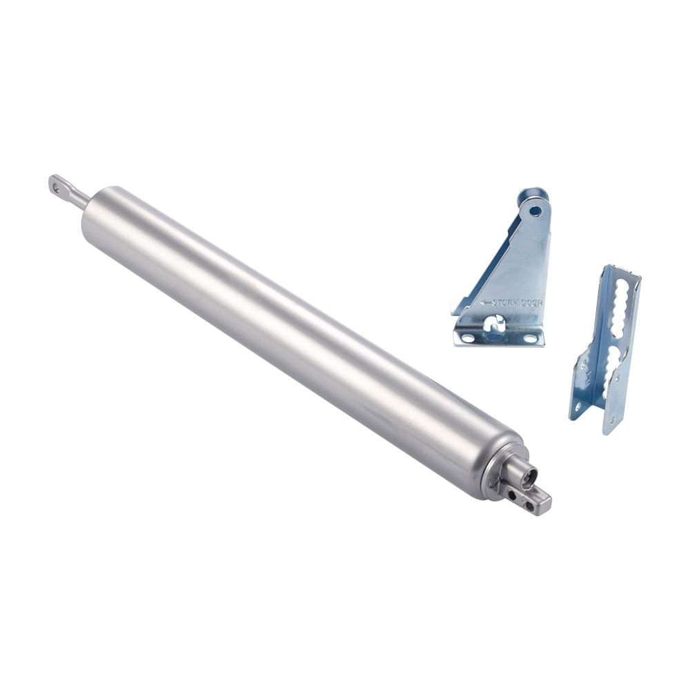 Pneumatic Door Closer Silver