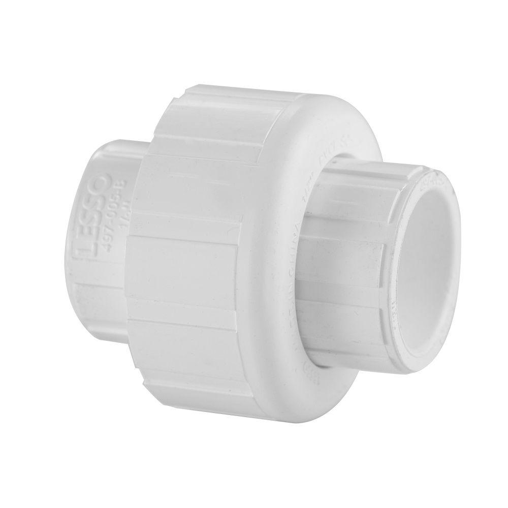 PVC SCH 40 Union Slipxslip 3/4 Inch