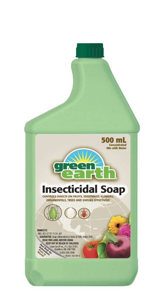 Savon insecticide Green Earth (conc., 500 mL)