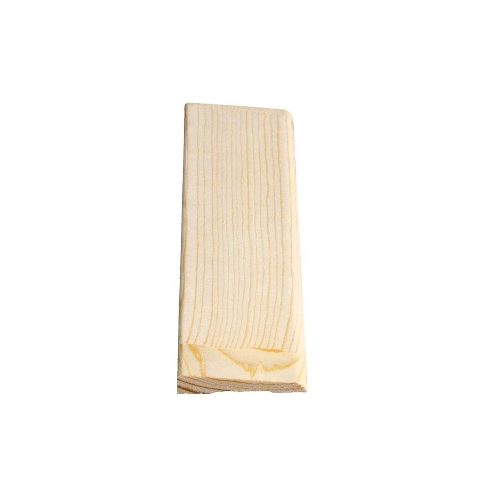 Alexandria Moulding Finger Jointed Pine Bevel Casing 3/8 In. x 2-1/8 In. (Price per linear foot)