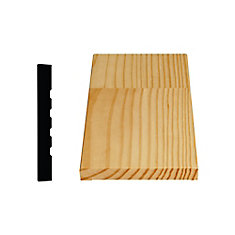 Finger Jointed Pine Door Jamb 9/16 In. x 4-5/8 In. x 7 Ft.