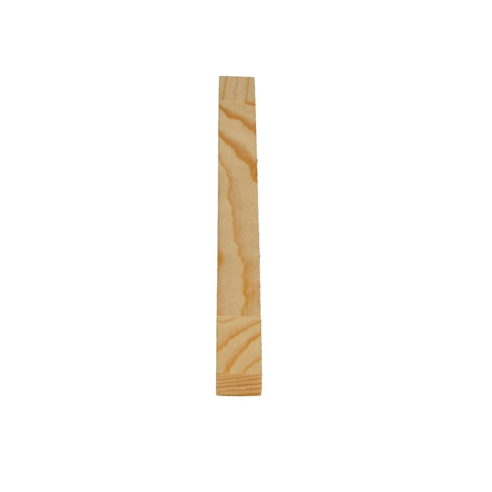Finger Jointed Pine D4S 7/16 In. x 11/16 In. x 8 Ft.