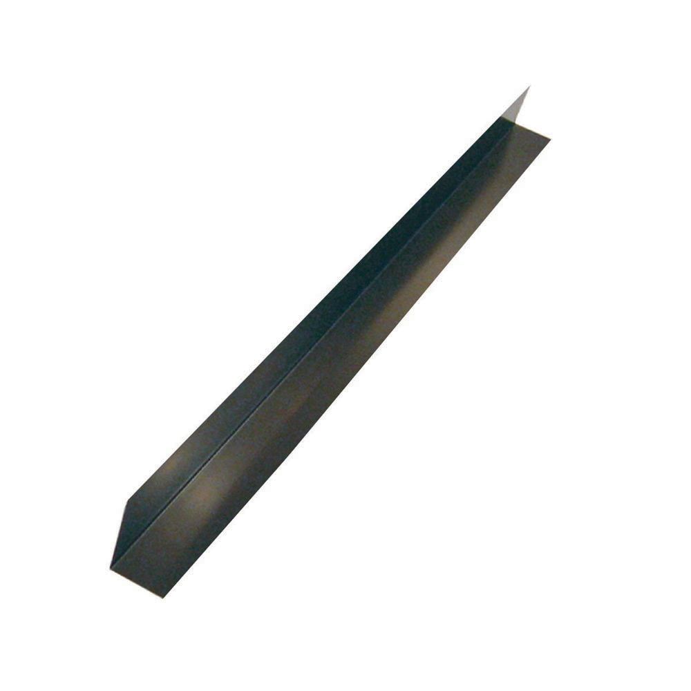 Flashing Angle, 4 inch  x 4 inch  x 10 feet - Brown Galvanized