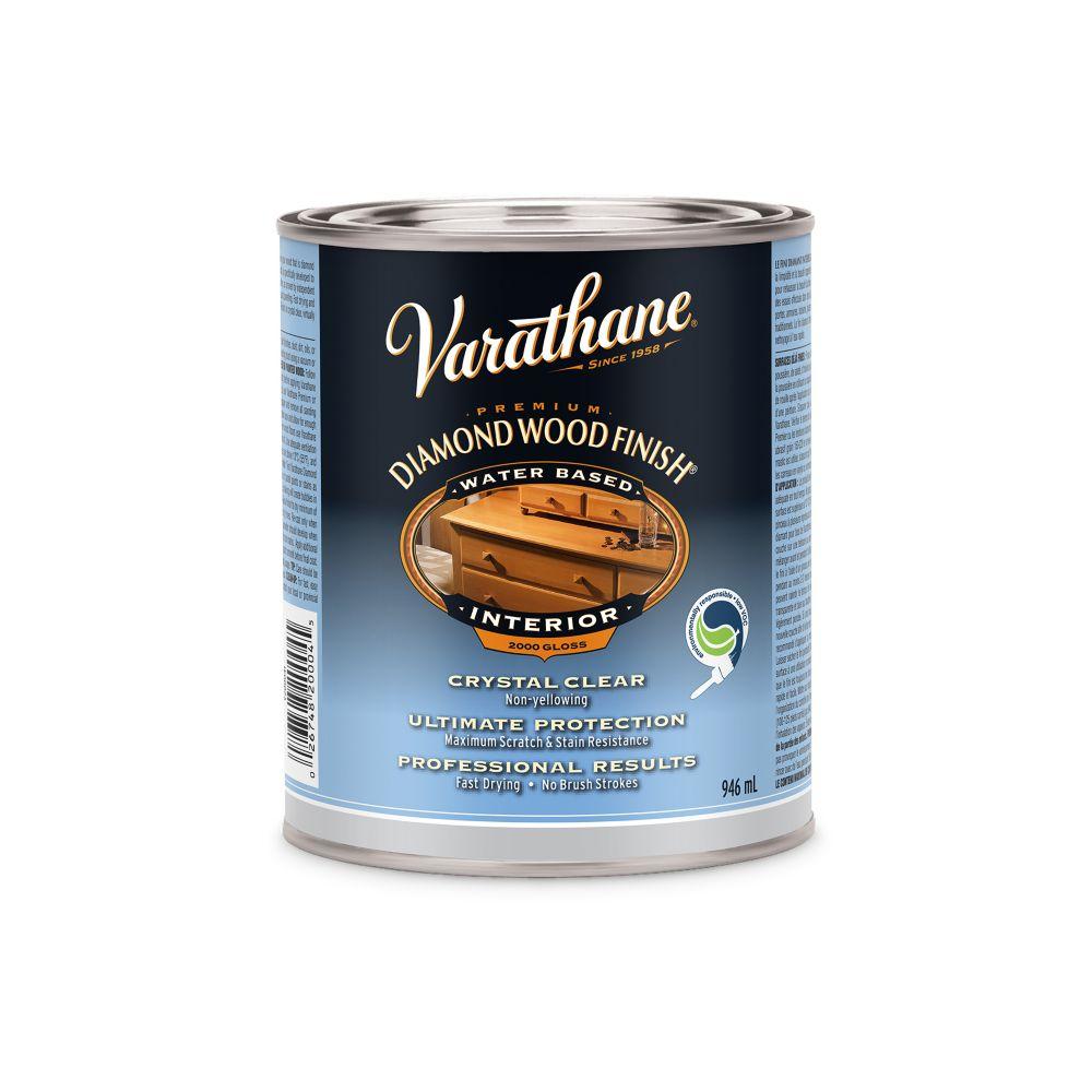 Varathane Diamond Wood Finish - Int. (Water, Gloss) (946ml)