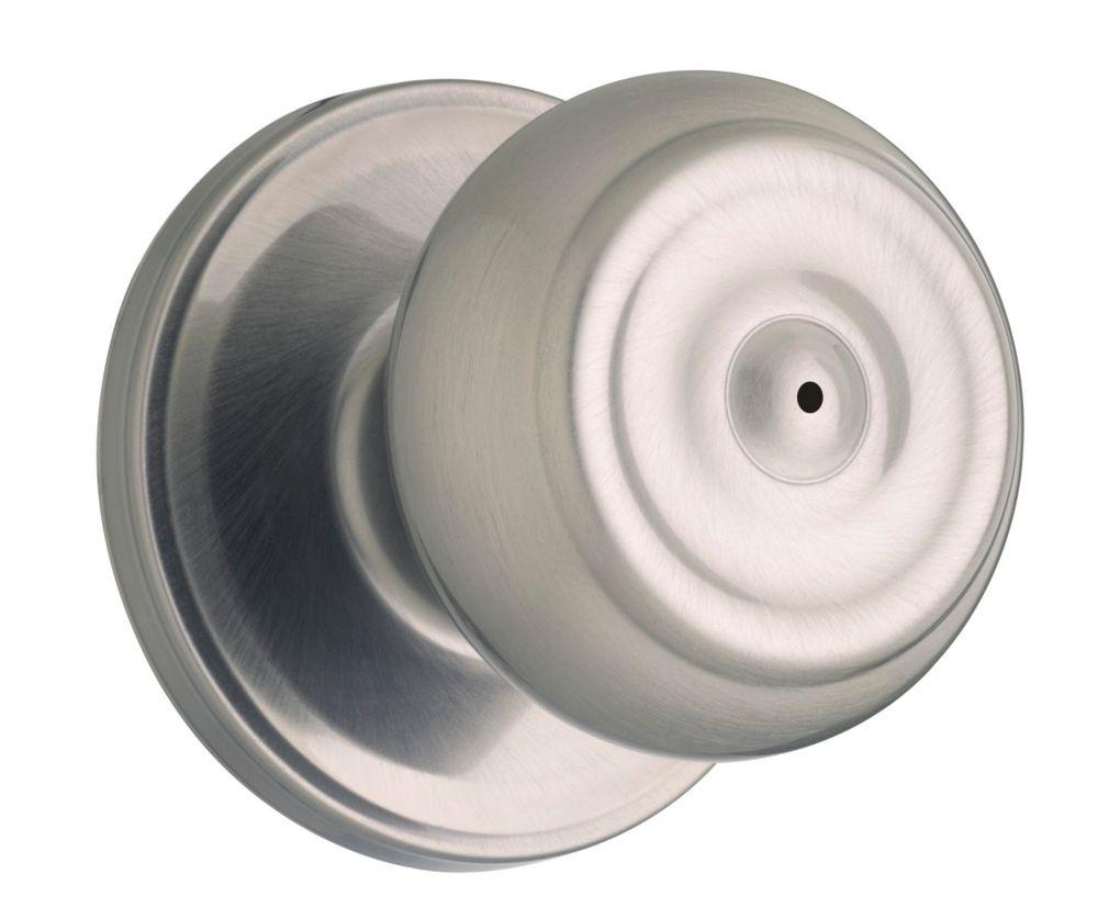 Phoenix privacy knob - antique nickel finish