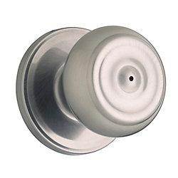 Serrure à bouton sans clé phoenix – fini nickel antique
