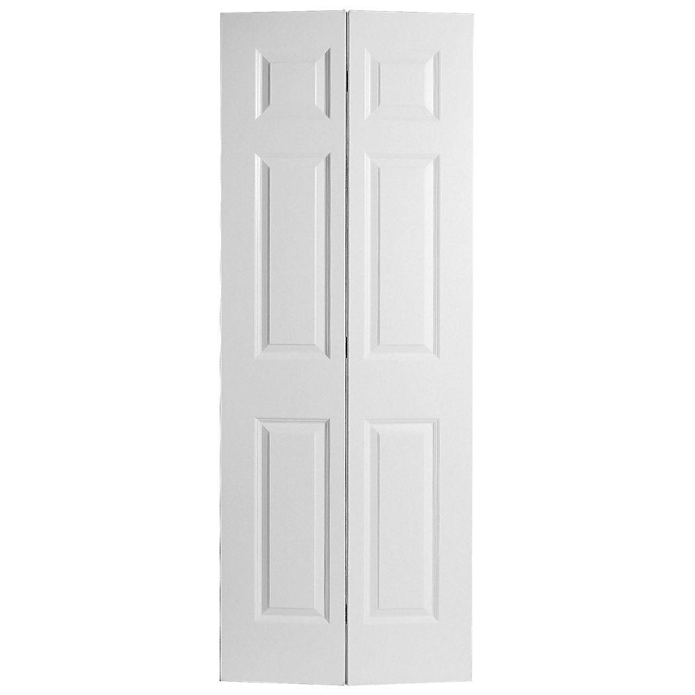Masonite 24-inch x 80-inch 6-Panel Bifold Door