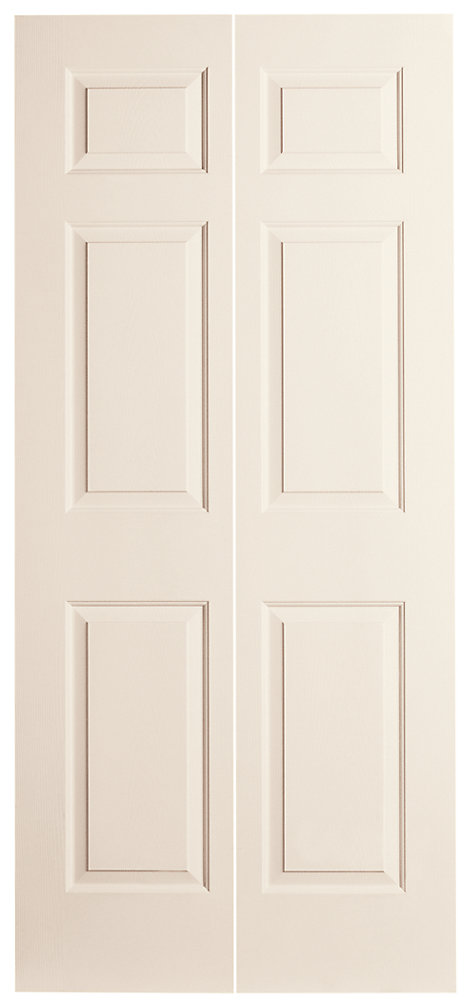Masonite 36-inch X 80-inch 6-Panel Bifold Door