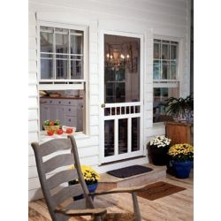 DIY 34-inch x 80-inch Waccamaw Solid Vinyl Screen Door