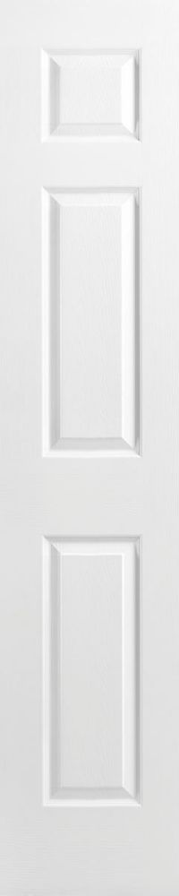 20-inch x 80-inch Primed 6 Panel Textured Interior Door Slab