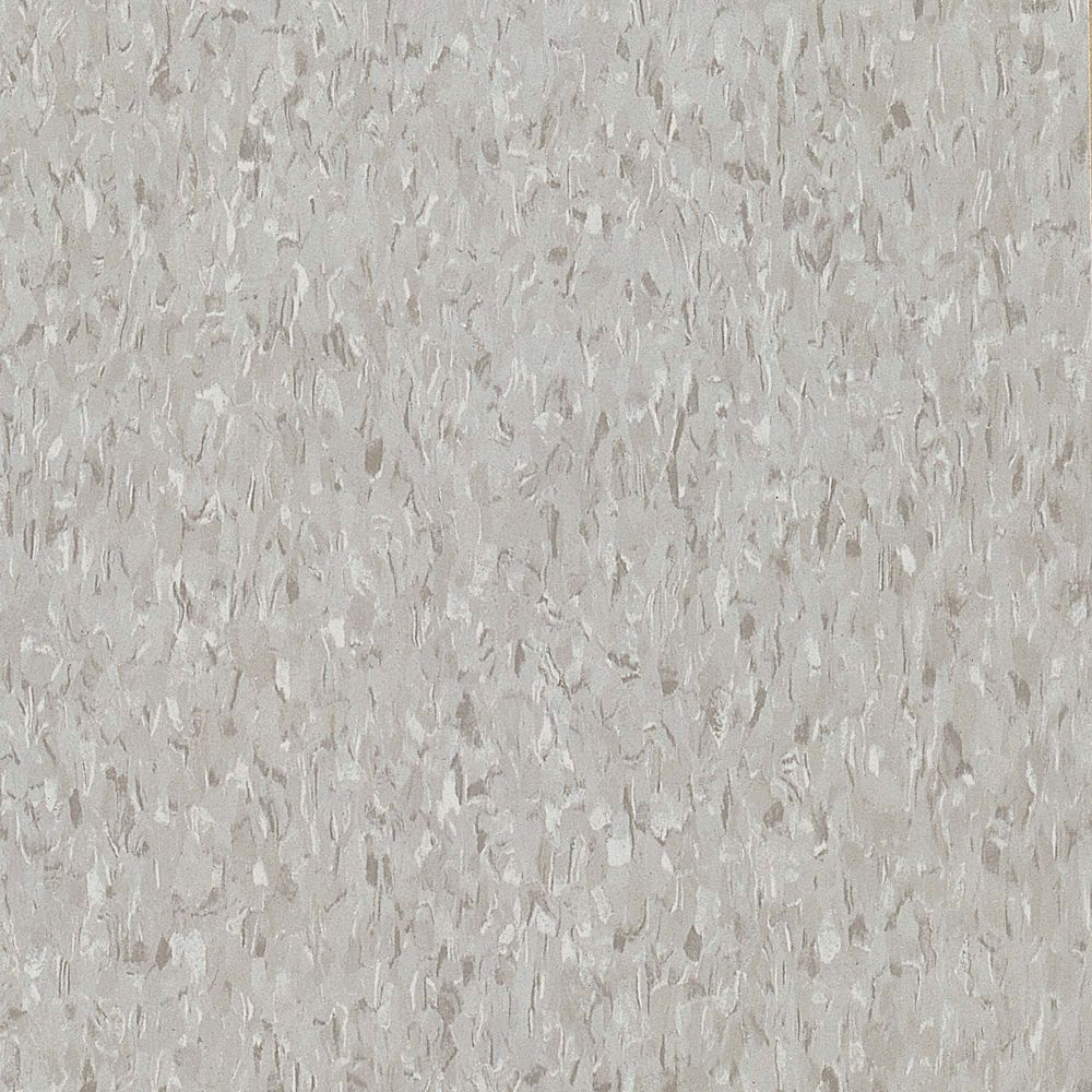 Imperial Texture 12-inch x 12-inch Vinyl Tiles in Sterling White (45 sq. ft./case)