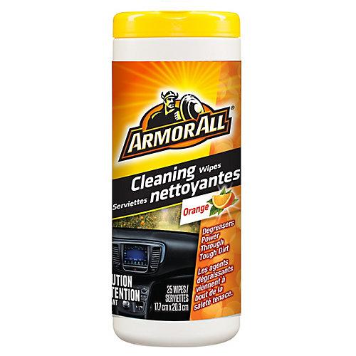 Orange Cleaning Wipes