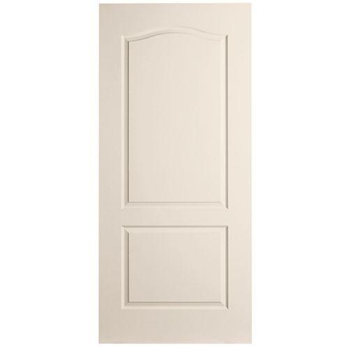 Masonite 28-inch x 80-inch x 1 3/8-inch 2 Panel Door Slab