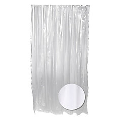 Heavy Gauge Shower Liner - Clear