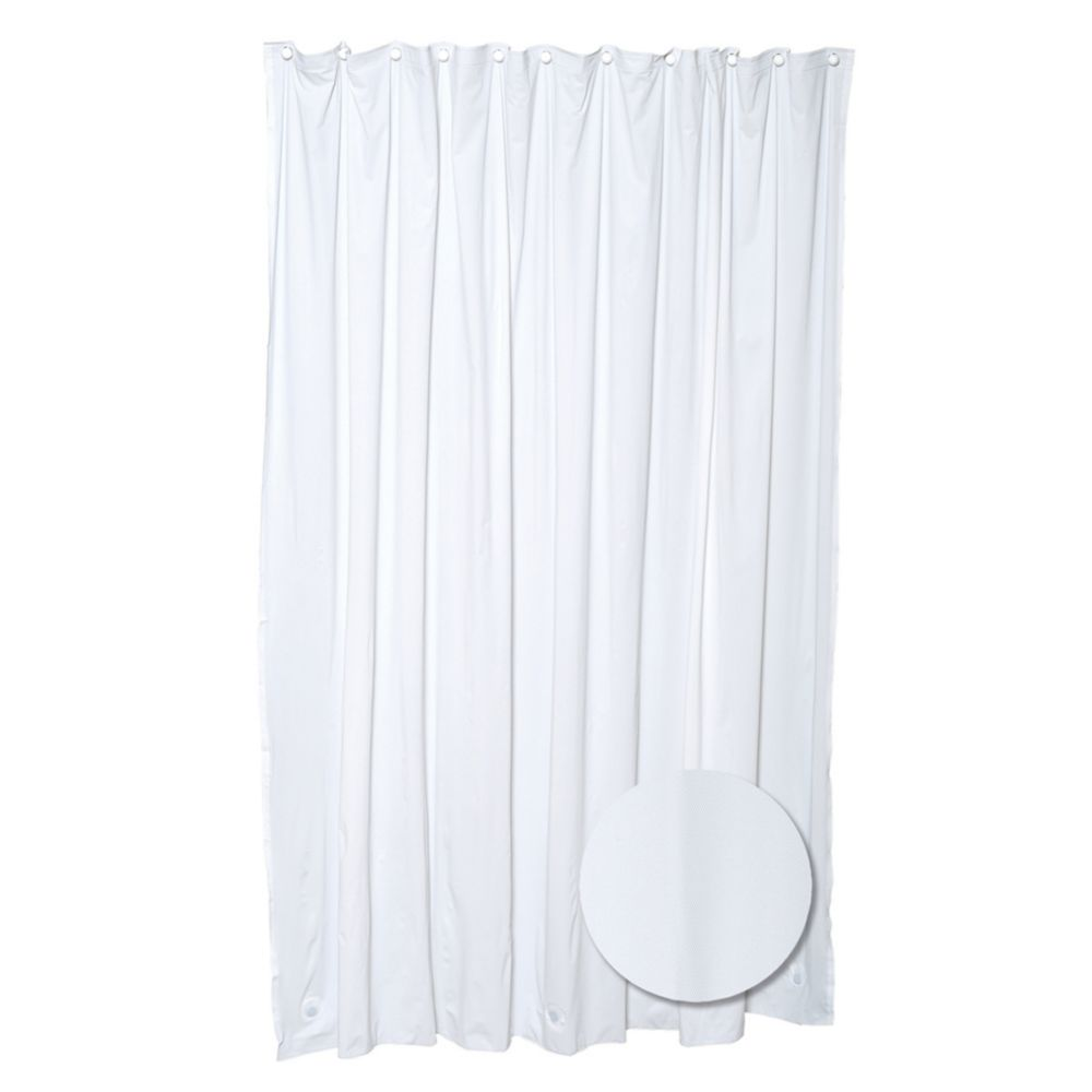 Heavy Gauge Shower Liner - White