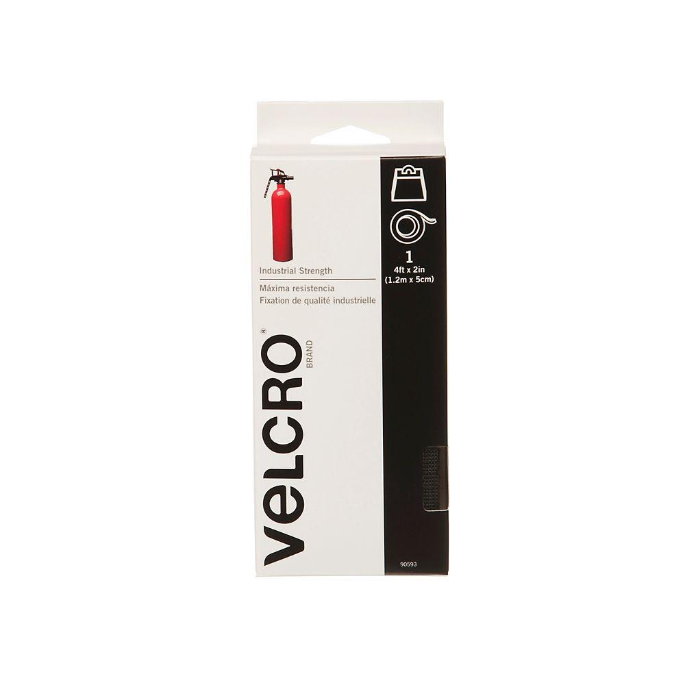 Ruban de puissance industrielle Velcro 4 pi. x 2 po.