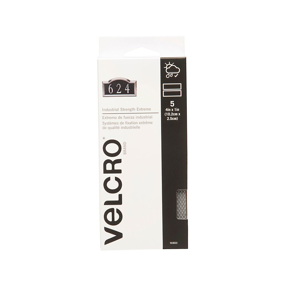 """Velcro Extreme Strips 4""""  x 1 in. Strips"""