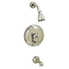 Diana Single-Handle Pressure Balance Bath/Shower Faucet in Polished Chrome