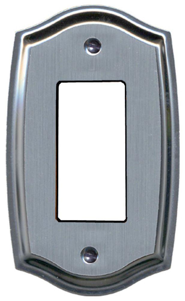 Plaque Murale Décorative Décor L'acier Gravé Sur Chrome