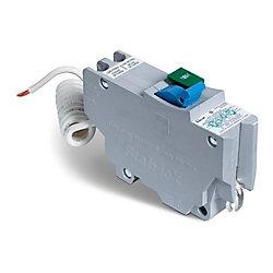 Schneider Electric Disjoncteur avec interrupteur de circuit de défaut d'arc Stab-lok  de 15A unipolaire