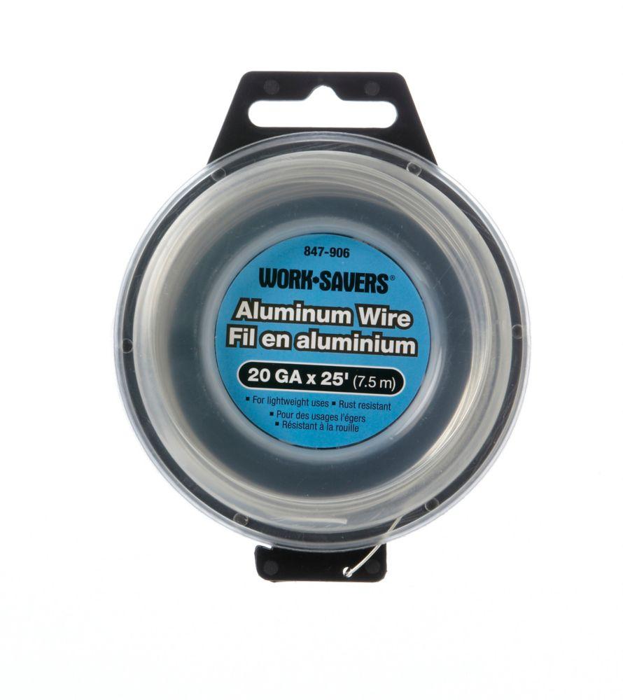 Fil D'Attache Alumin.G20X7.5M