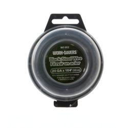 Paulin Stl Wire Black-Mach Coiled 20G X 50M