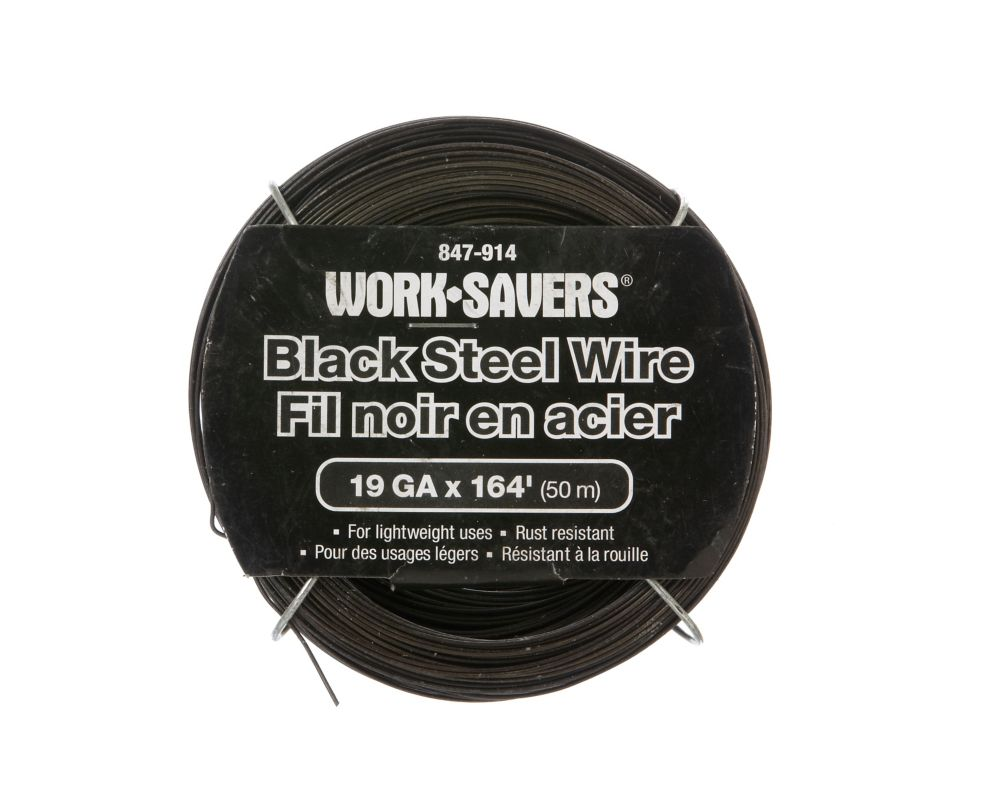 Steel Wire Black-Coiled 19Gx50M