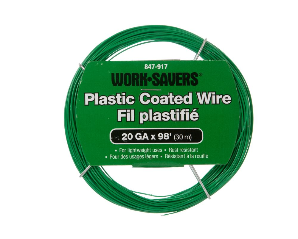 Steel Wire Green Pvc-Coiled 20Gx30M
