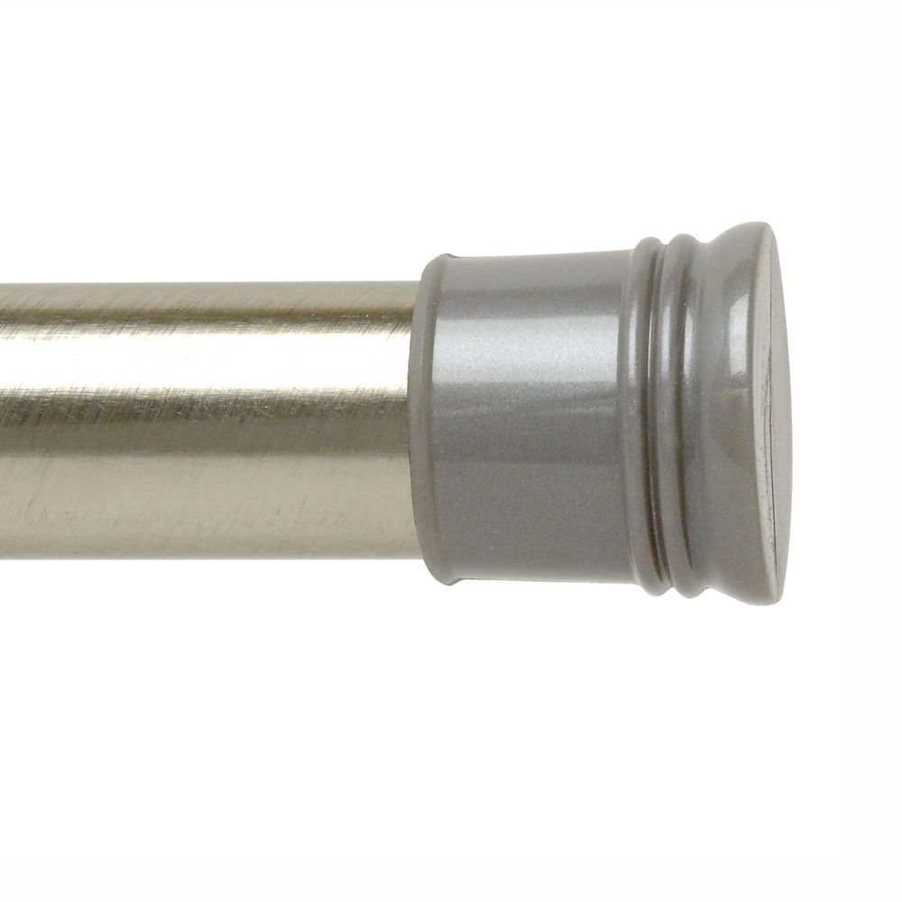 72 Inch Tension Rod - Brushed Chrome