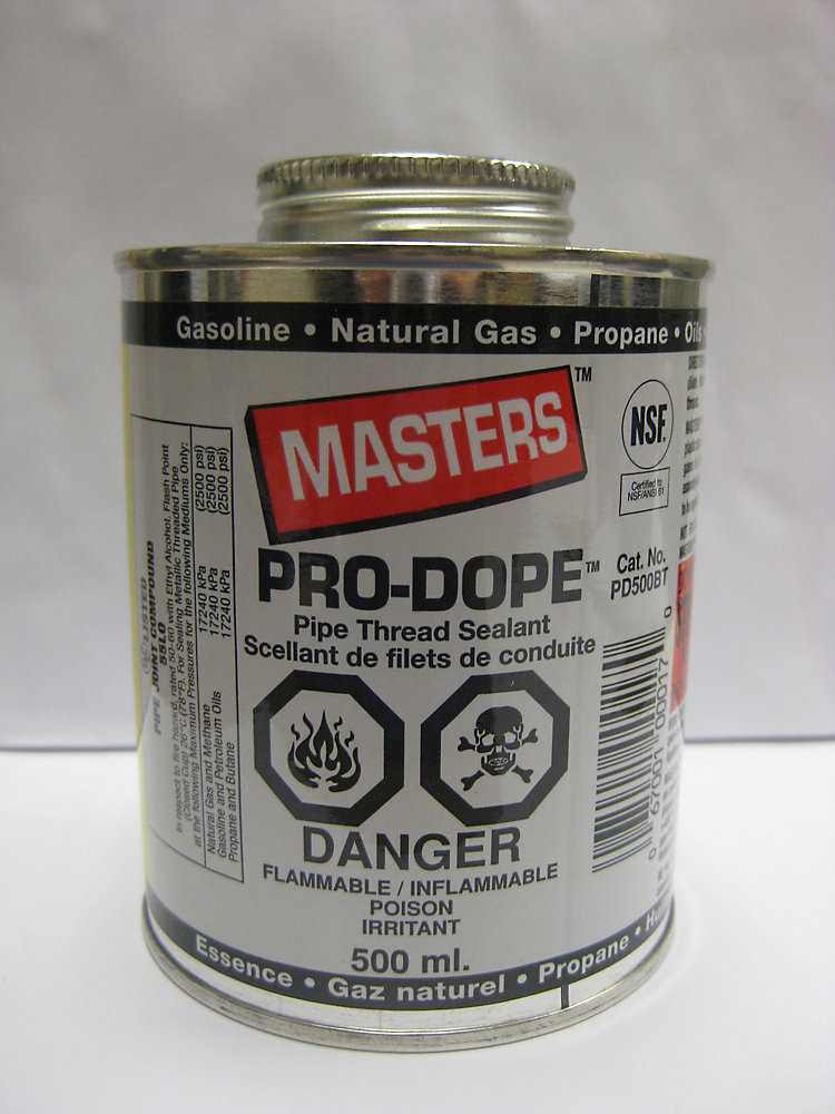 Masters Pro Dope Pipe Thread Sealant 500ml The Home