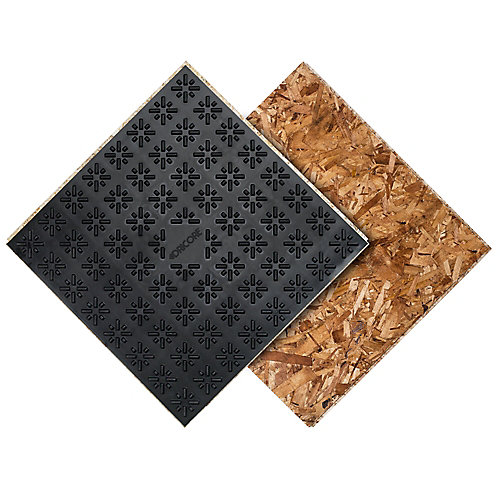 Dricore 2 ft. x 2 ft. Engineered Subfloor Panel System | The Home ...