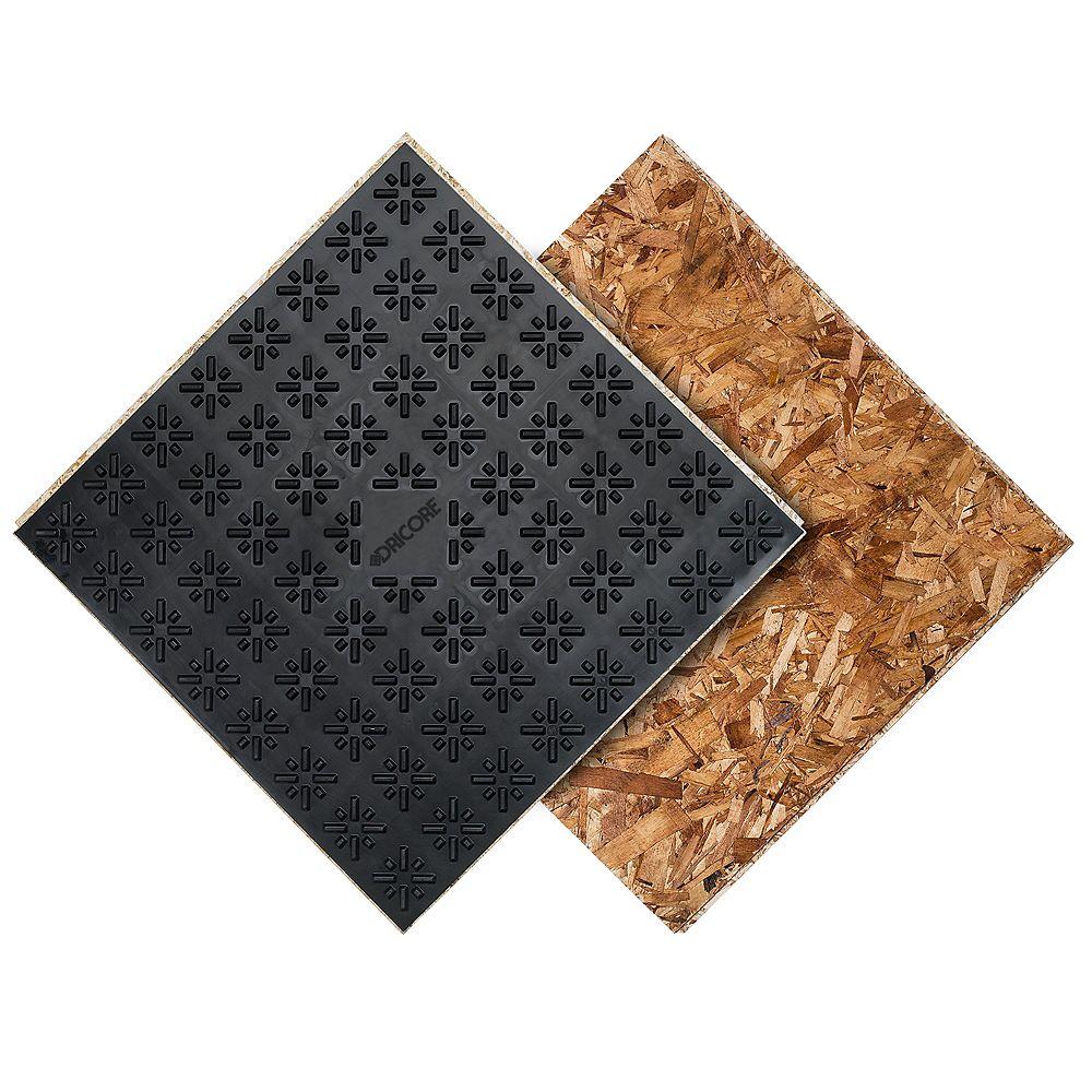 Dricore Subfloor membrane panel 23.25 inch x 23.25 inch