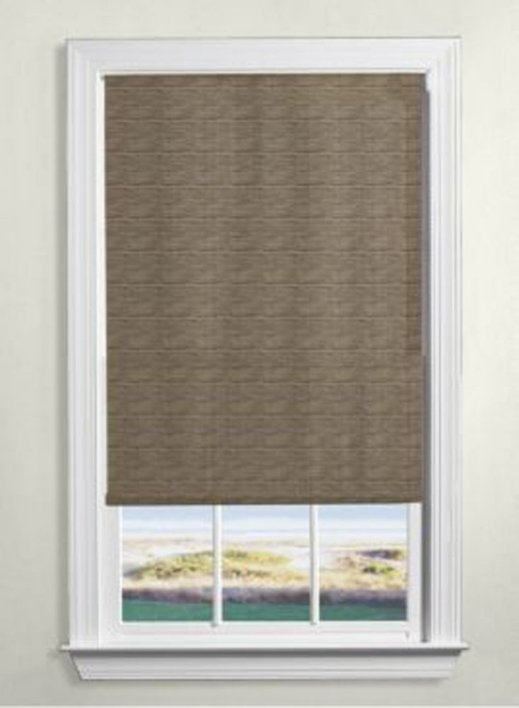 Levolor decorative roller shades the home depot canada for Toile de fenetre