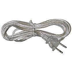 Atron Clear Lamp Cord - 6 Feet