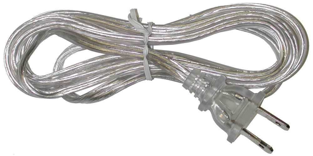 Clear Lamp Cord - 6 Feet