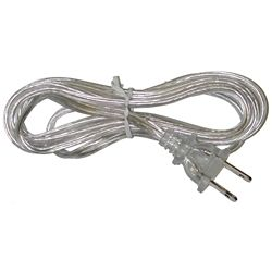 Atron Clear Lamp Cord - 6 Feet