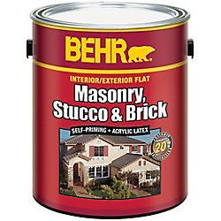 BEHR Interior/Exterior Masonry, Stucco & Brick Paint - 3.61 L Pastel Base