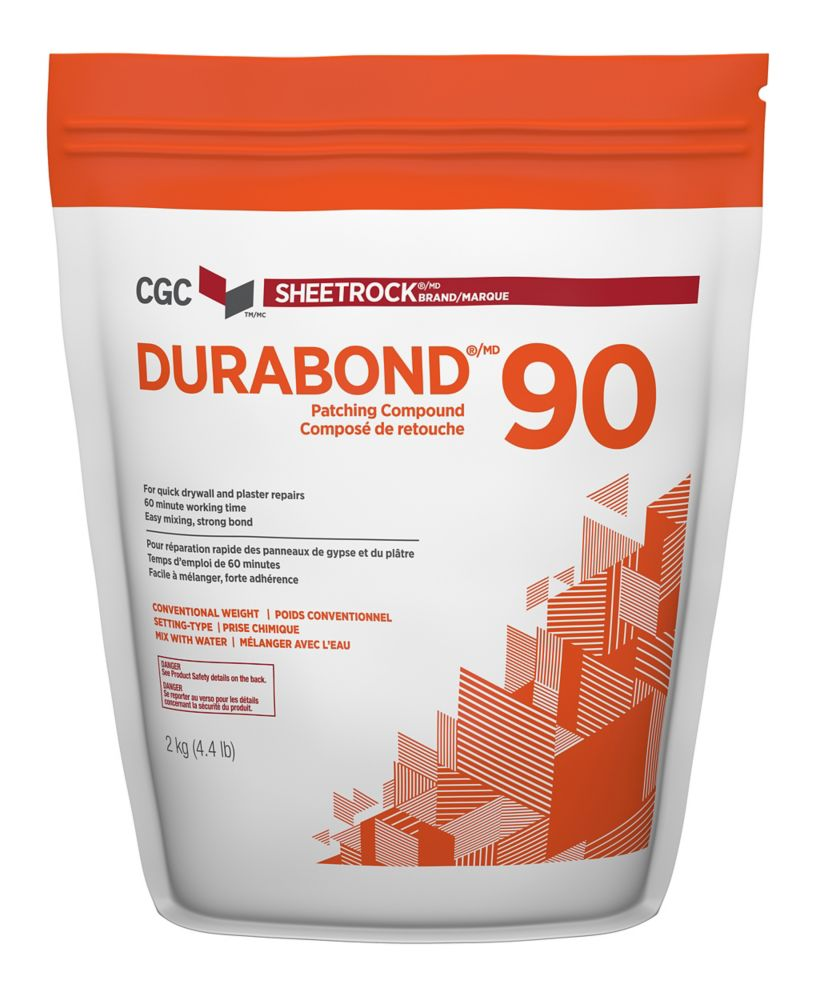 Durabond 90 Setting-Type Joint Compound, 2 kg Bag