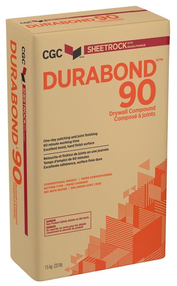 Composé à joint à prise chimique DURABOND 90, sac de 15 kg