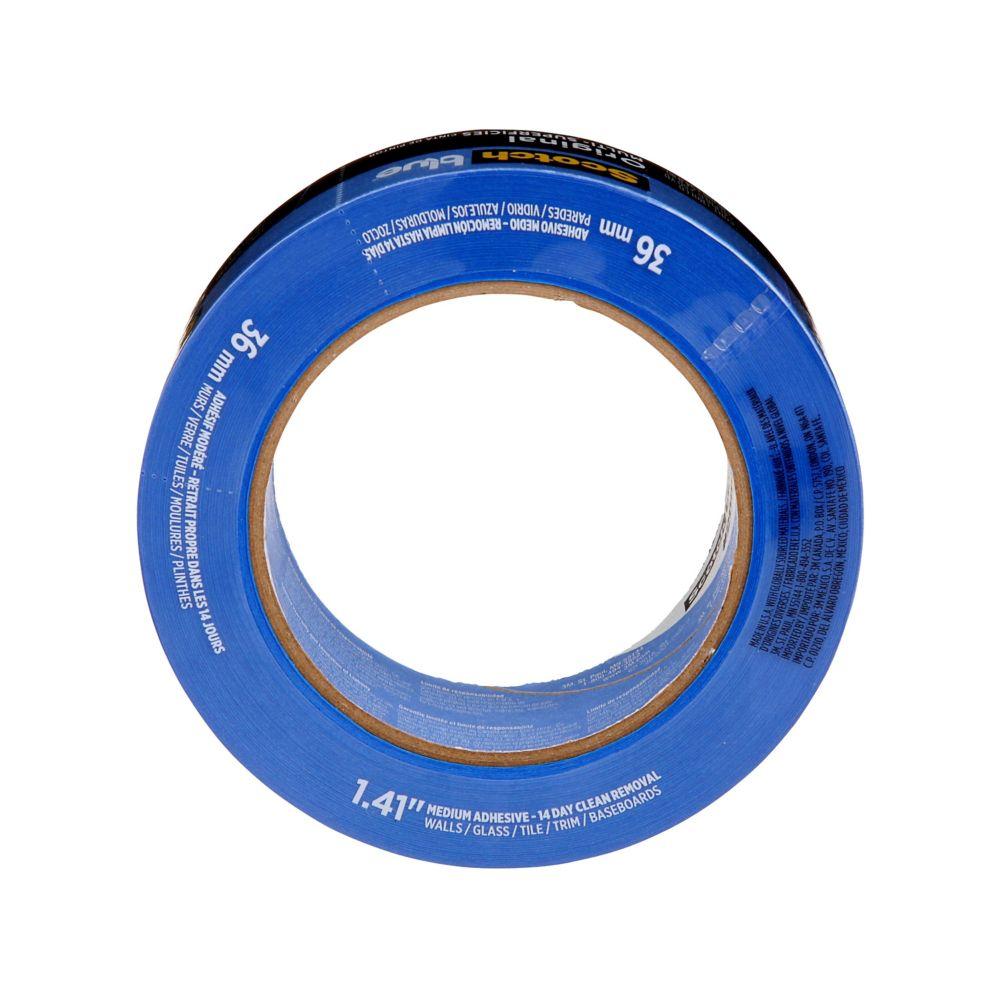 Ruban pour peintres Scotch-Blue pour surfaces multiples, 38,1mm x 54,8m
