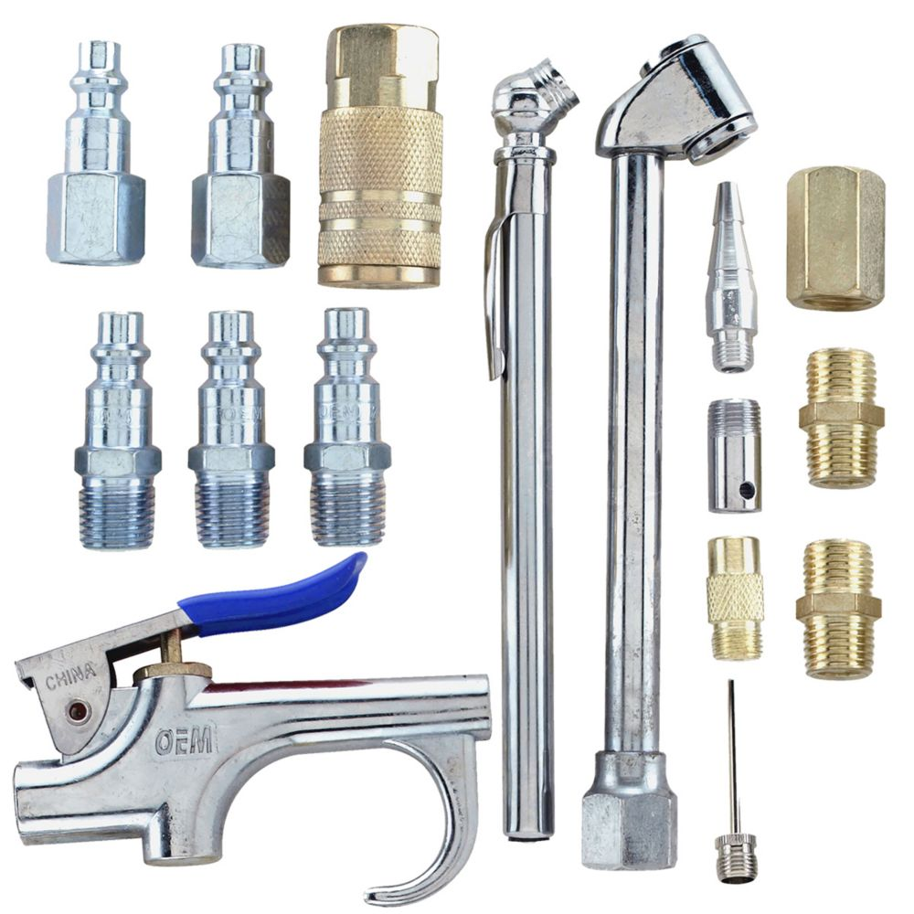 Campbell Hausfeld 17-Piece Accessory Kit 1/4 Inch I/M (MP284701AV)