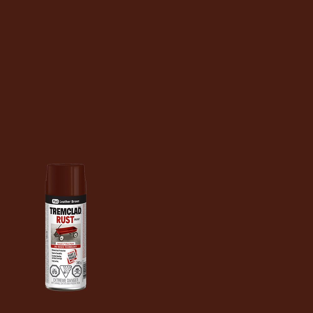 Rust Paint - Leather Brown (340g Aerosol)