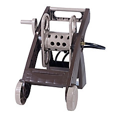 Fold And Store Hose Reel Cart