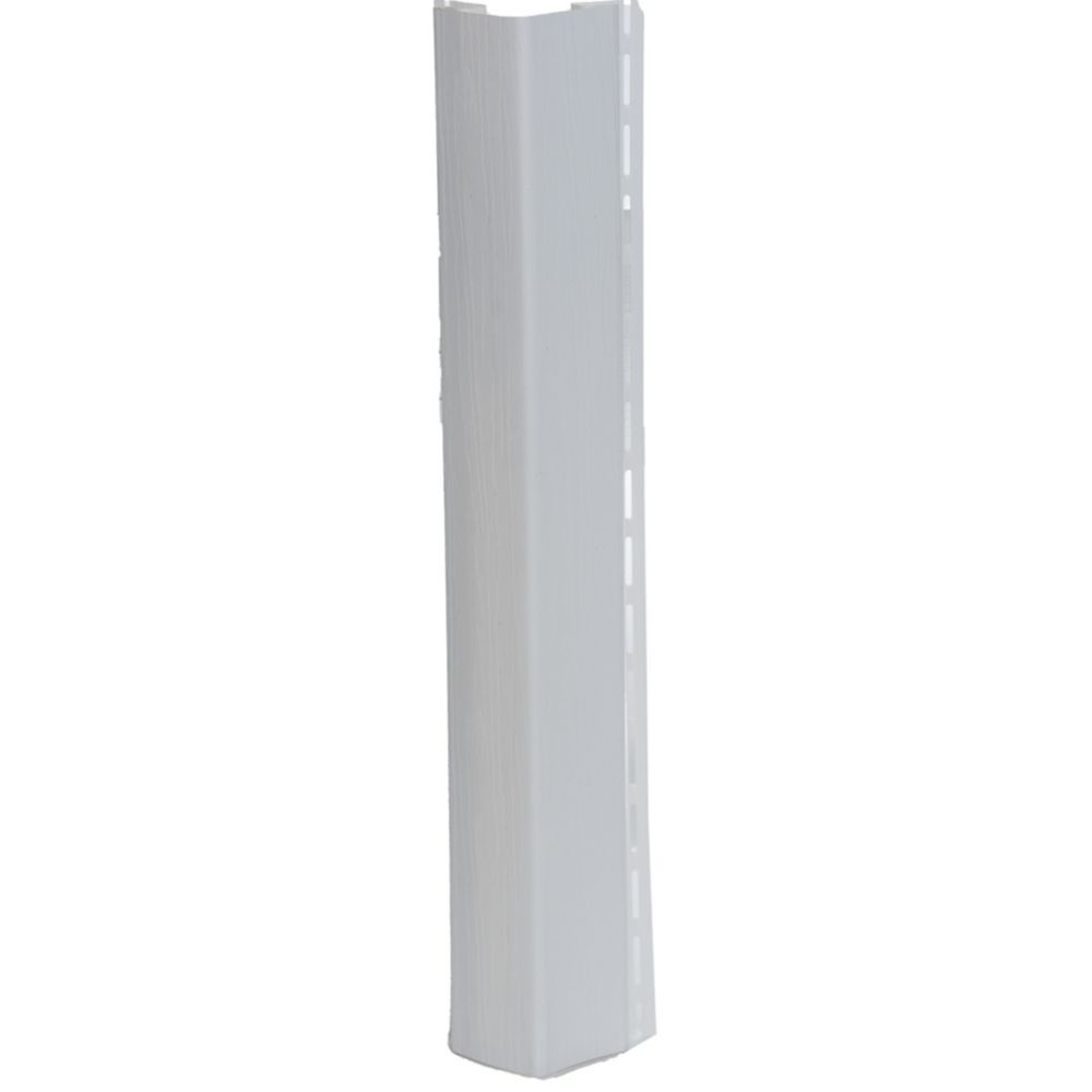 Abtco 1/2 inch Outside Corner Post white