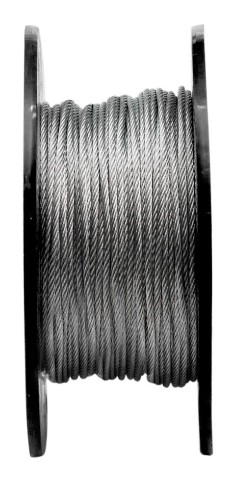 3/16 7X19 Aircraft Cable Galv.