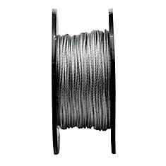 1/8 7X7 Aircraft Cable Gal (Price per foot)