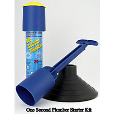 One Second Plumber Starter Kit - 24 Shot