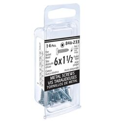 Paulin 6x1-1/2 Pon Soc 14 Pc Metal Screw
